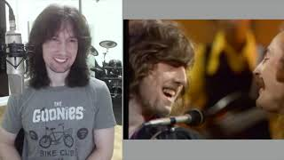 British guitarist analyses Tom Jones with Crosby, Stills, Nash and Young live in 1969!