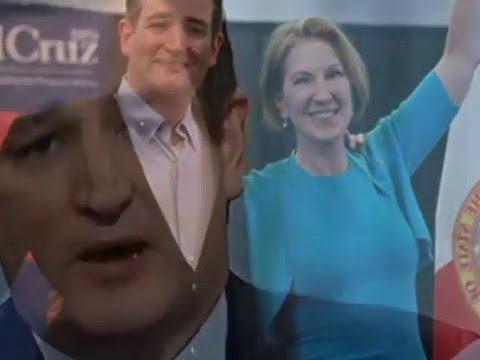 Cruz Fiorina 2016 - New Political ad