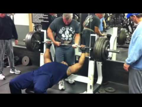 Chad 485 Pound Bench Press