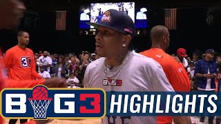 3 Headed Monsters vs 3s Company | BIG3 HIGHLIGHTS