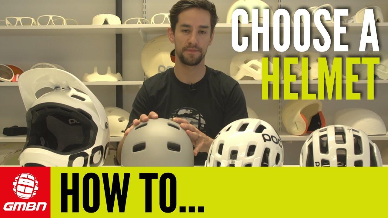 a19f8c8cbfc How To Choose A Mountain Bike Helmet - YouTube