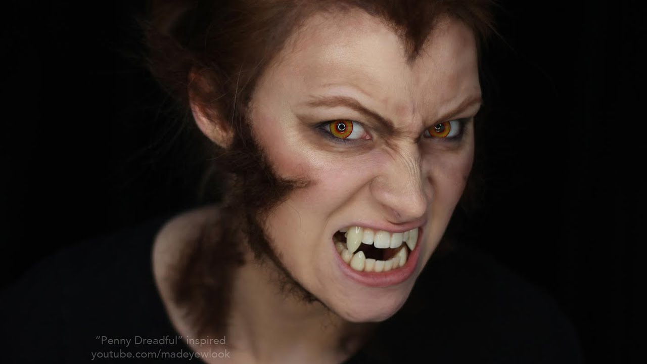 Werewolf Makeup Tutorial | Penny Dreadful - YouTube