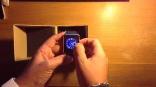 GT08 video tutorial ita model smartwatch sim nfc sd vendita subito