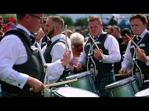 Inveraray & District Pipe Band - 2017 World Pipe Band Championships