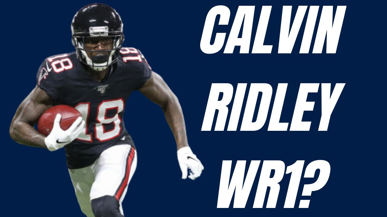 Could Calvin Ridley Be A Top 7 Wr In 2020 Fantasy Football Youtube