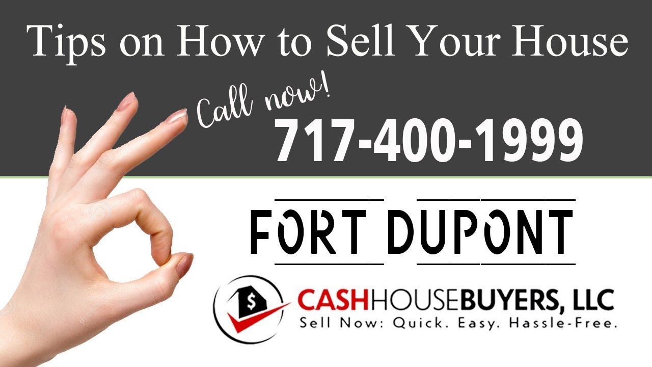 Tips Sell House Fast Fort Dupont Washington DC | Call 7174001999 | We Buy Houses