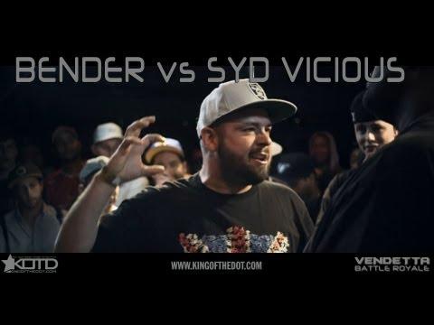 KOTD - Rap Battle - Bender vs Syd Vicious | #Vendetta