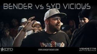 Bender vs Syd Vicious
