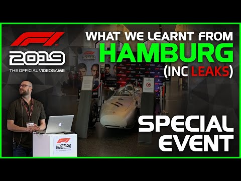 Codemasters F1 2019 | Hamburg Special Event + MORE LEAKS! |