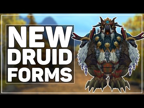 WoW Legion: The New Druid Forms (Moonkin & Artifact Guardian/Feral)