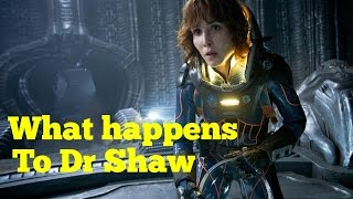 Alien Covenant news - What happens to Dr Shaw? Prequel novel confirmed