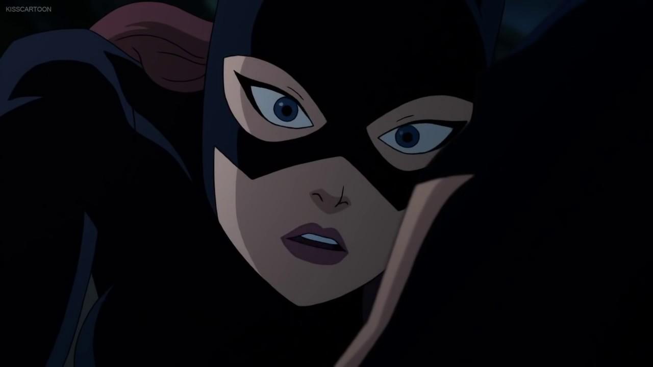Batgirl Kiss batman - YouTube