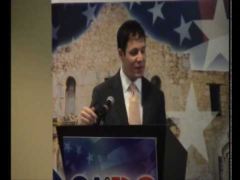 US Travel Association's Geoff Freeman Speaks to San Antonio Business Leaders