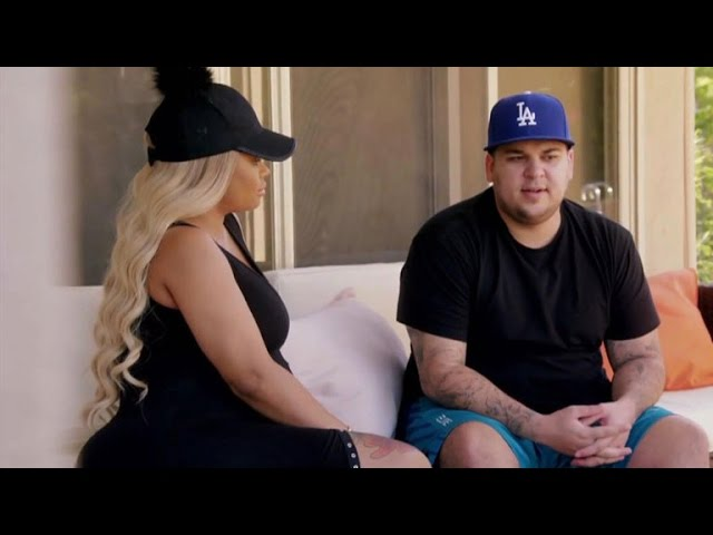 Rob Kardashian Apologizes to Blac Chyna After Explosive Fight, Vows to 'Work' on Himself — Watch!