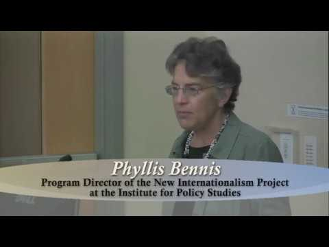 Current Middle Eastern Affairs, A Lecture by Phyllis Bennis