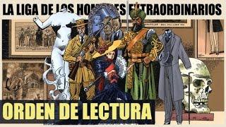 CRONOLOGÍA de LA LIGA DE LOS HOMBRES EXTRAORDINARIOS   Orden de lectura