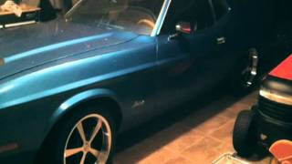 Mustang Fastback Wheels & Tire Installation | Classic Muscle Car Review & Demonstration
