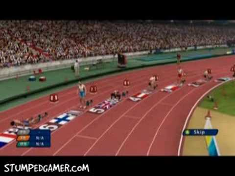 Beijing 2008 - XBOX360 - 200m