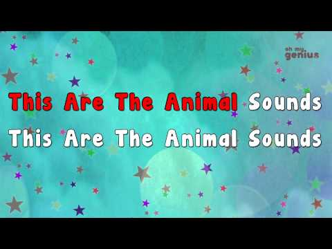 Animal sound song | Animal Sound | Karaoke Rhymes