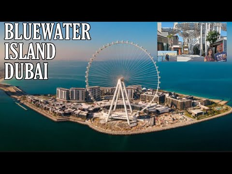 Bluewater Island Dubai | Largest Ferries Wheel in The World | Let's GO!