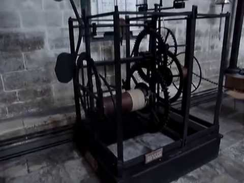 The Oldest Working Clock in Existence - Salisbury Cathedral Clock - UK