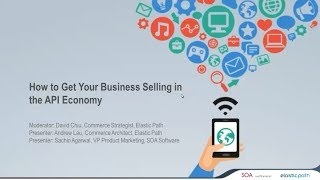 How to Get Your Business Selling in the API Economy