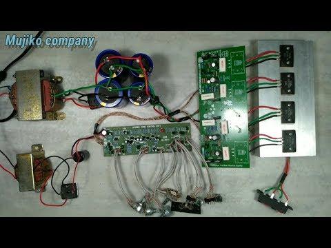 Cara Memasang Tone Control Non CT Pada Power Amplifier