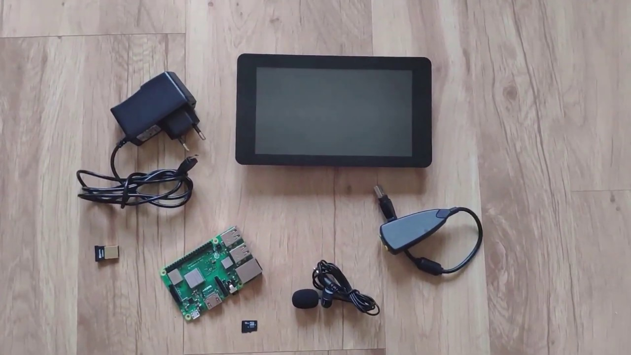 Android Auto and Raspberry Pi Head Unit solution - OpenAuto Pro basic kit