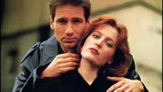 Mulder and Scully I believe love is the answer