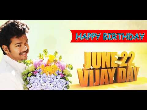 VIJAY BIRTHDAY WISHES
