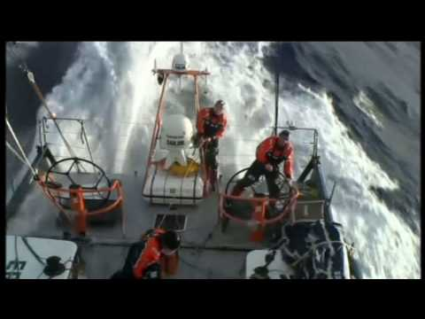 Rounding Cape Horn on the Volvo Ocean Race 2008/09