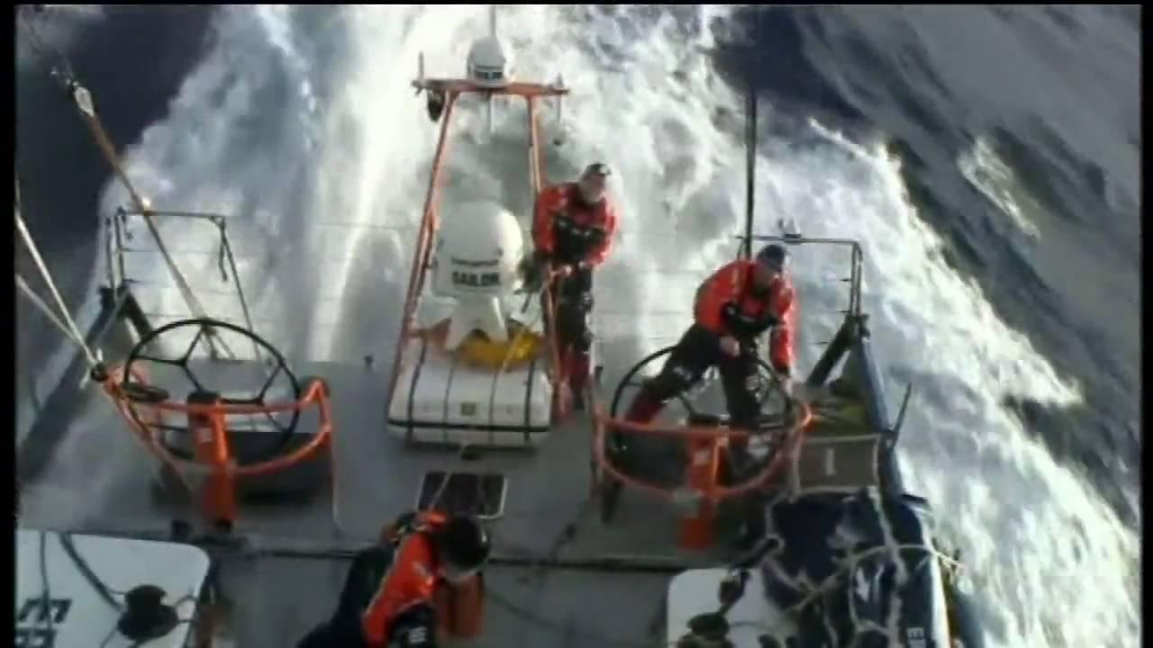 Rounding Cape Horn on the Volvo Ocean Race 2008/09 - YouTube
