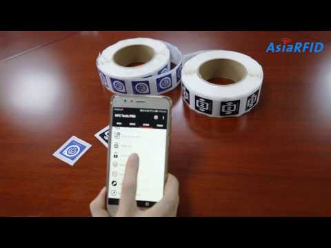 How To Copy Data Between NFC Stickers/NFC Paper Tags