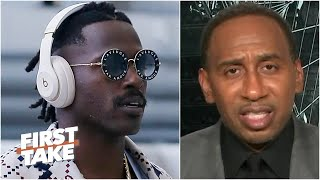 Stephen A. reacts to the NFL suspending Antonio Brown 8 games | First Take