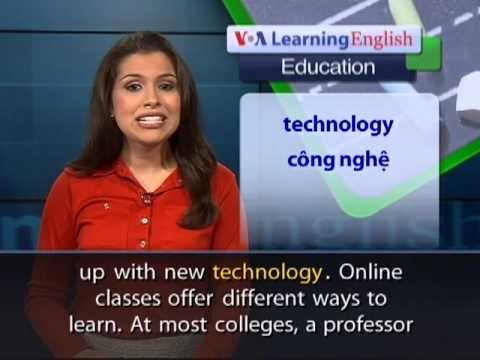 Anh ngữ đặc biệt: College Digital Revolution (VOA)