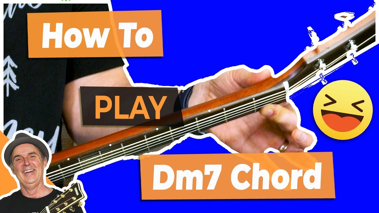 How To Play The Dm7 Chord On Guitar Youtube
