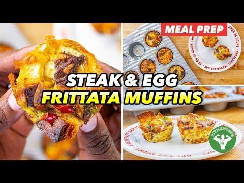 Breakfast Meal Prep – Steak & Egg Frittata Muffins