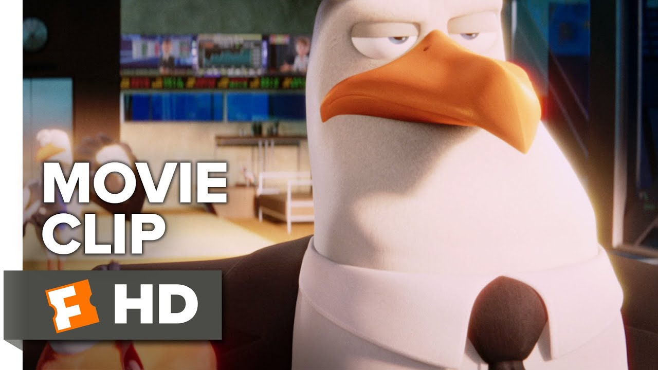 25c77606ac969a Storks Movie CLIP - Very Cool (2016) - Kelsey Grammer Movie - YouTube
