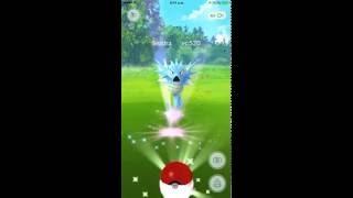 Capturando a SEADRA (Pokemon GO)