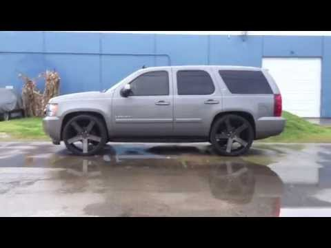 Chevy Tahoe Dropped 26s Dub Ballers 2 4 Maxtrac Suspension Reklez