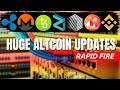 HUUGE CRYPTOCURRENCY NEWS  REN, Zilliqa, Binance, Monero, Tezos, Ripple  Bitcoin Halving
