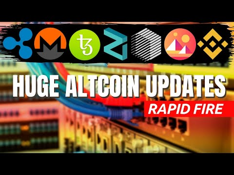 HUUGE CRYPTOCURRENCY NEWS | REN, Zilliqa, Binance, Monero, Tezos, Ripple | Bitcoin Halving