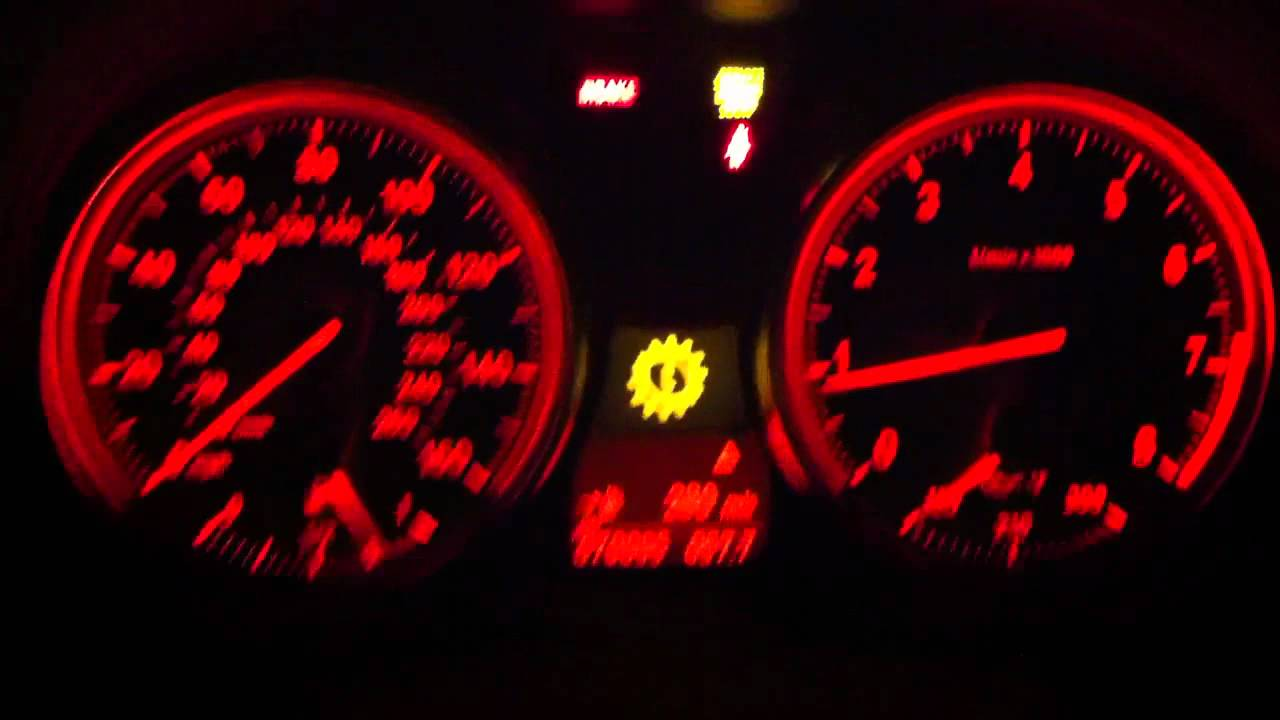 07 Bmw E92 N52 First Start Lights Out Dash Reset Gear