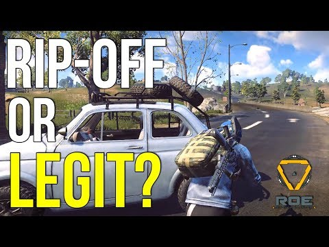 New PUBG Rip Off? Ring Of Elysium Battle Royale First Look