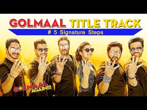 Golmaal Title Track | Learn Signature...