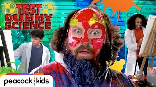 Color Science Human Canvas Experiment | TEST DUMMY SCIENCE