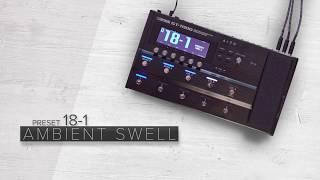 BOSS GT-1000 Preset Sound Examples (No Talking)