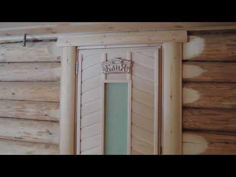 Обзор комнаты отдыха в деревянной бане
