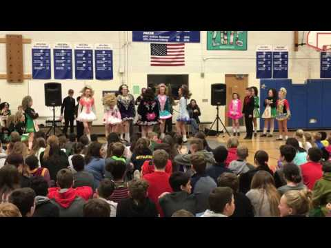 Beglan Irish Dancers with Cuil A 'Lin at Maple Dale Middle School