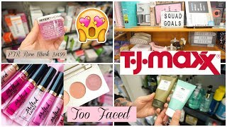 SHOP WITH ME AT TJMAXX! Makeup + Skincare Deals ♡